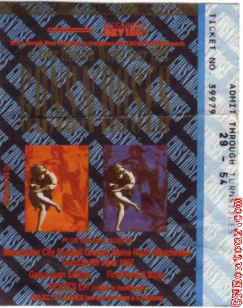 GNRontour com - GN'R Setlist Almanac 1992