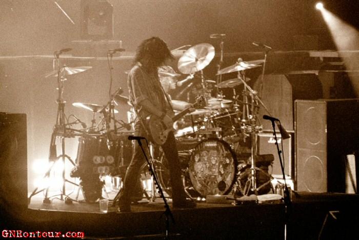 Fotos de los últimos 3 recitales de Guns N' Roses juntos